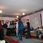 Танцы в новогоднюю ночь в центре для наркоманов