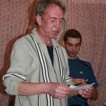 Дядя Саша алкоголик читает стихи