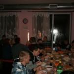 Новогодний стол у зависимых без алкоголя