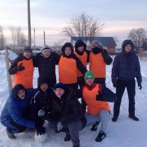 Спортивные мероприятия в реабилитационном центре - играем в футбол